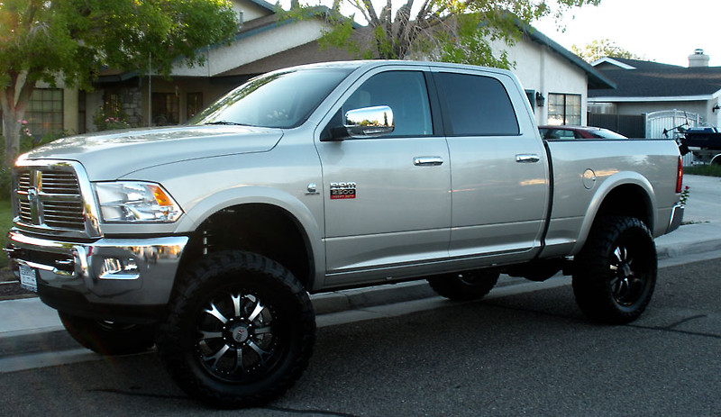 Picture Silver Dodge Ram 2500 With Rbp 96r Rims 171 Dodge